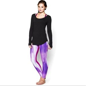 Under Armour | Perfect Print Zipped Running Tights